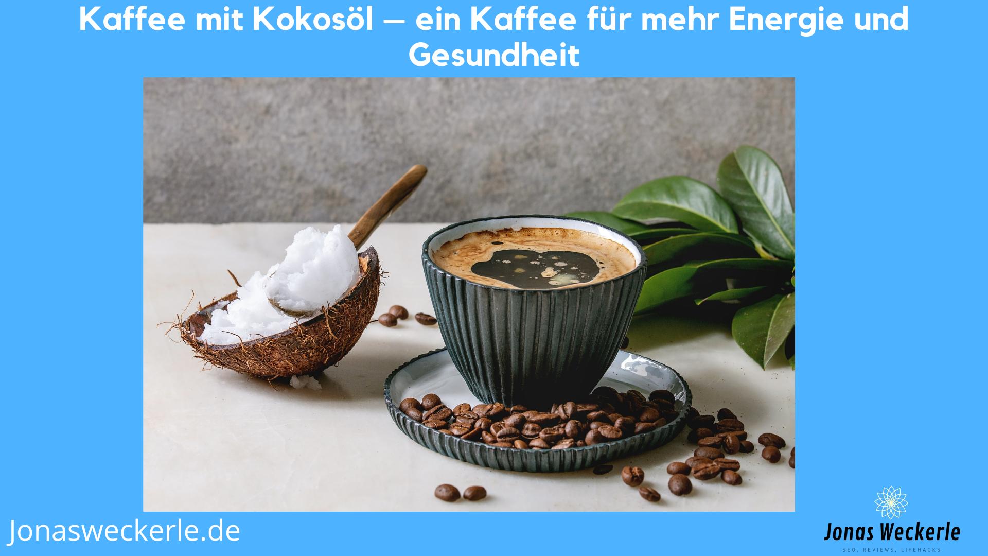kaffee mit kokosoel