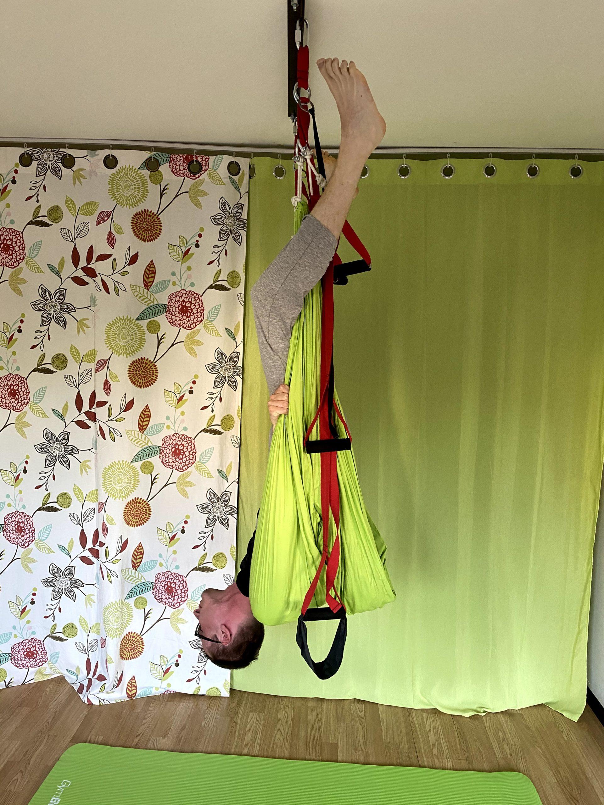 Aerial Yoga Sicherheitshinweise