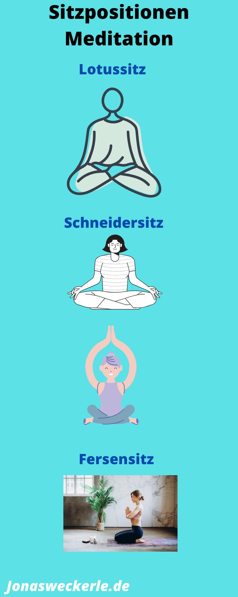 Meditieren sitzpositionen