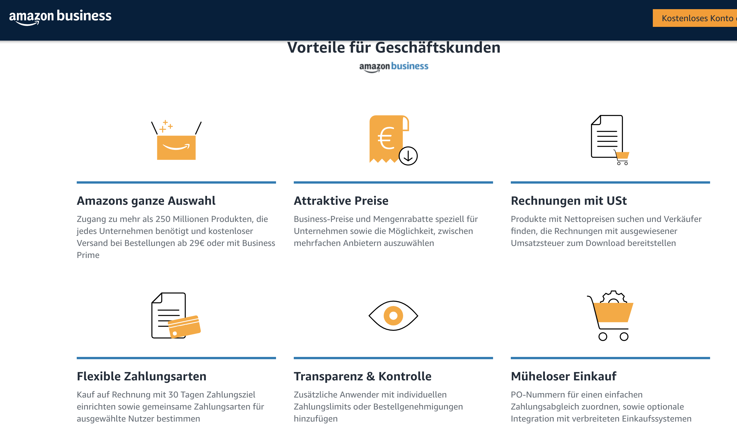 Amazon Business Erfahrungen