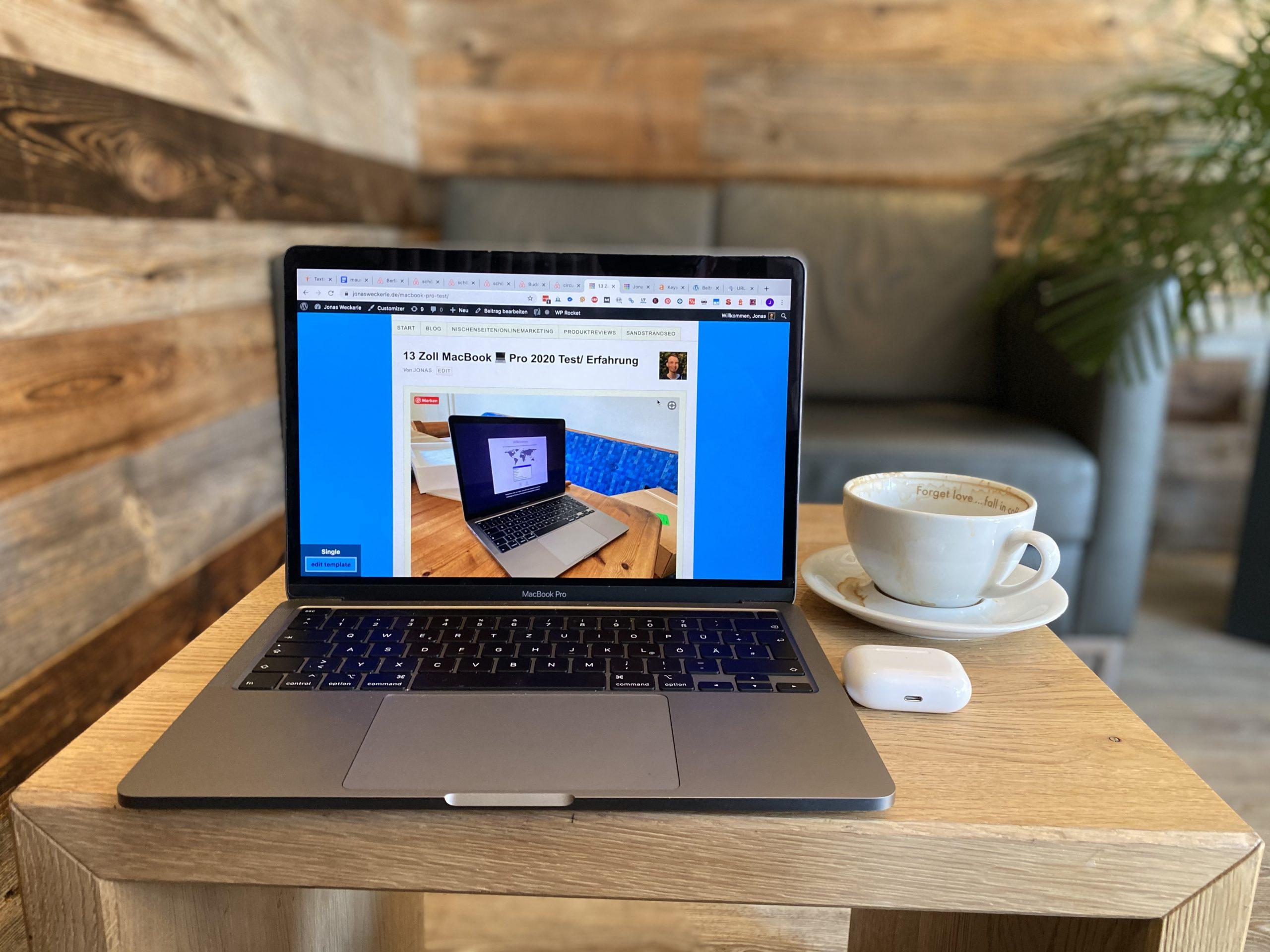 2020er 13-Zoll MacBook Pro Test/ Erfahrung