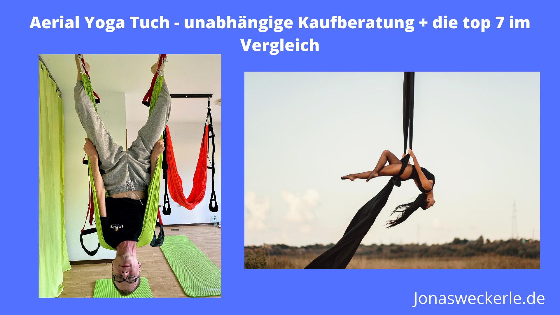 aerial yoga tuch test bild