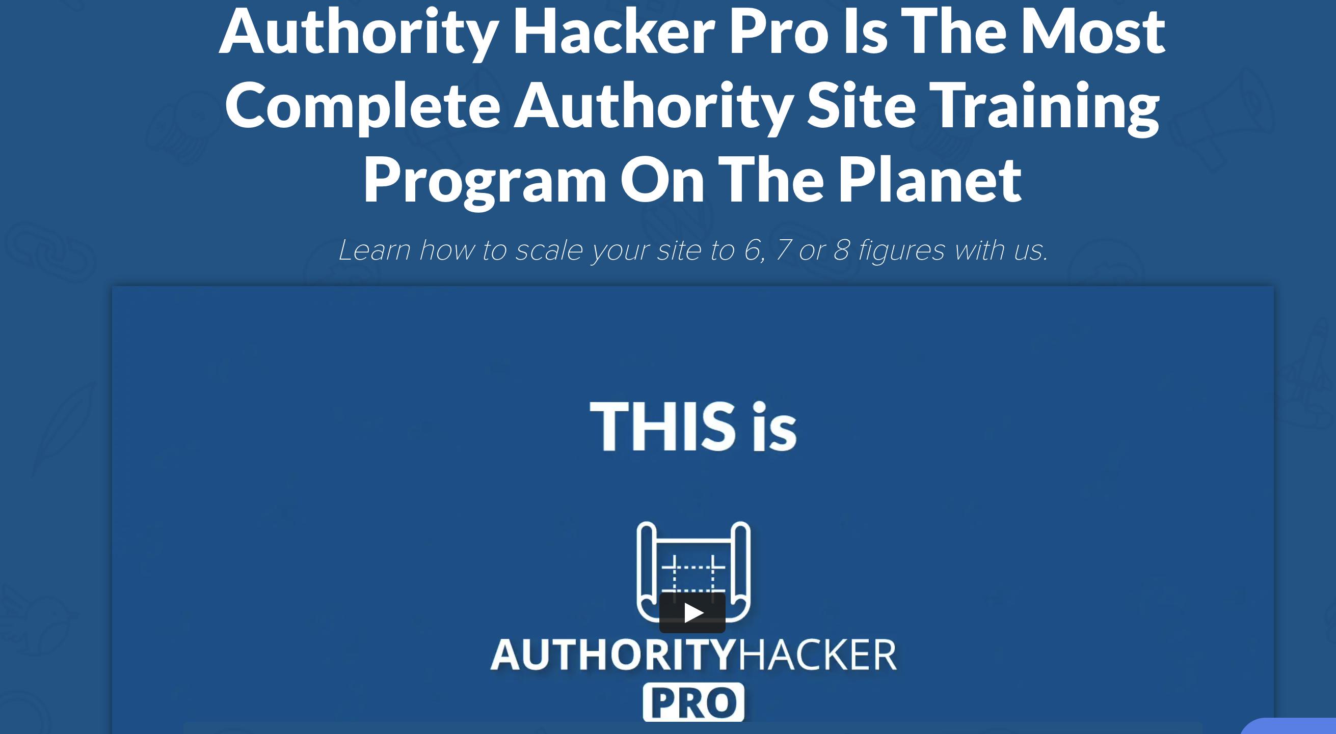 authority hacker pro test erfahrung