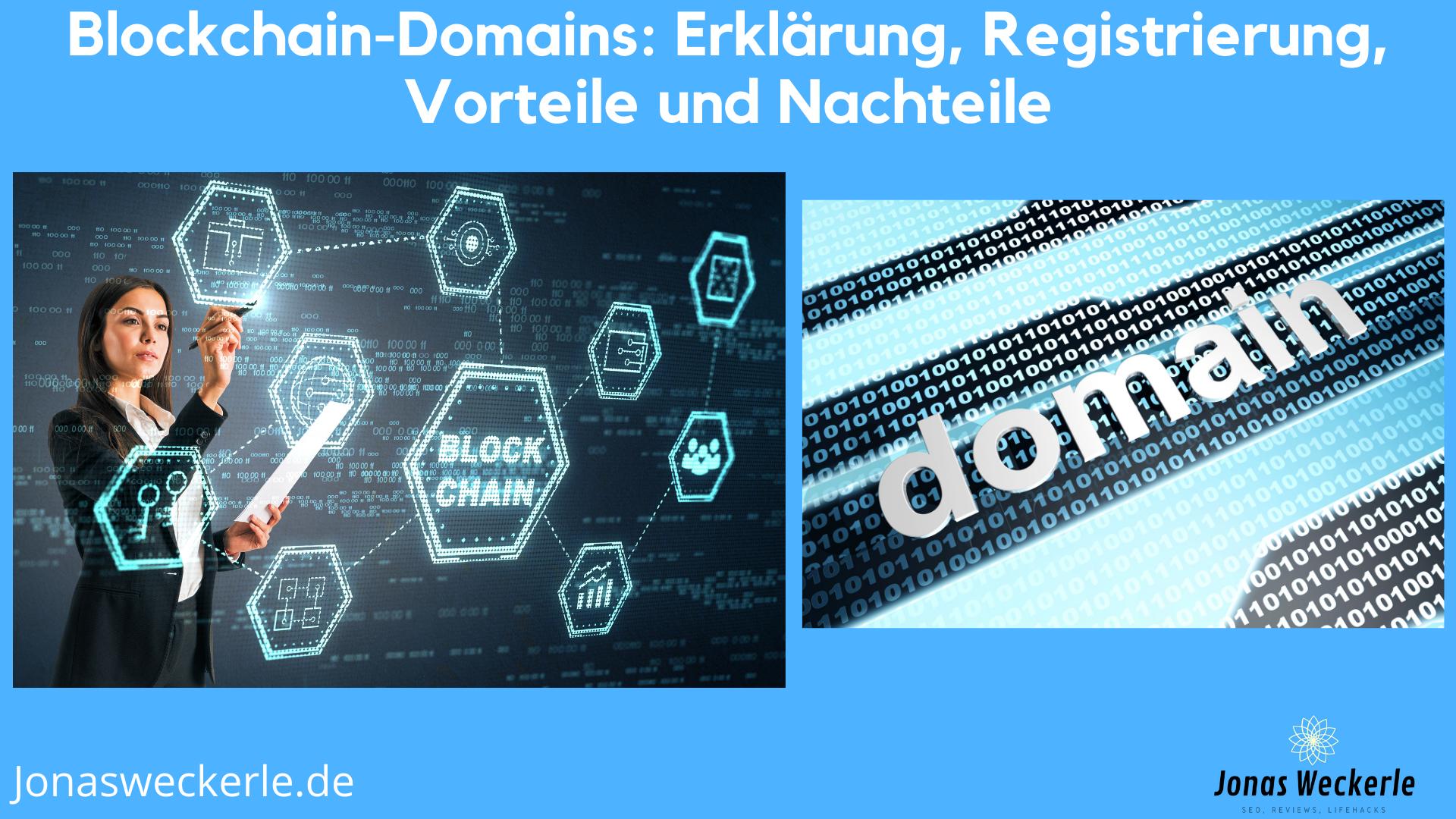 Blockchain Domain Erklärung